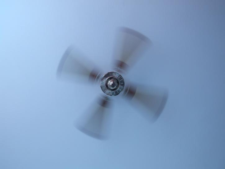 night sweats with ceiling fan